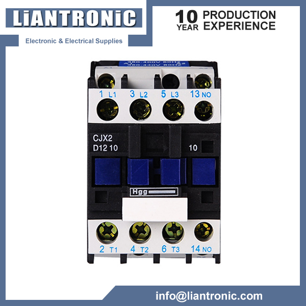 CJX2( LC1-D) Series Kontaktor 3 Phase AC Contactor title=