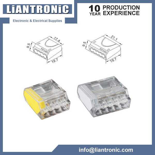2-Conductor Push-Wire Connector