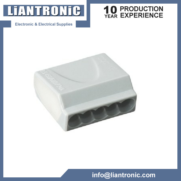 5-Conductor Push-Wire Connector title=
