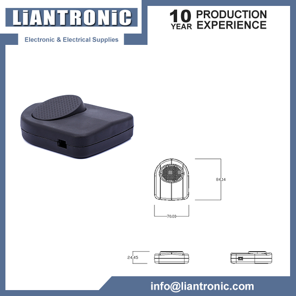 Electrical Plastic Push Button Foot Switch title=